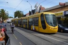 Tram in Acland Street