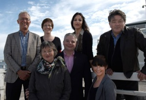 unChain's 2012 candidates for City of Port Phillip. Photo by David Parker.
